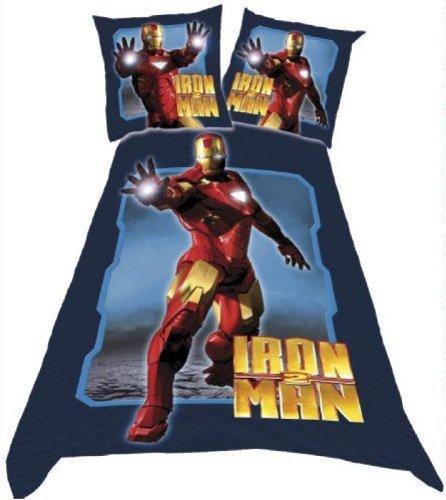 Iron man single duvet