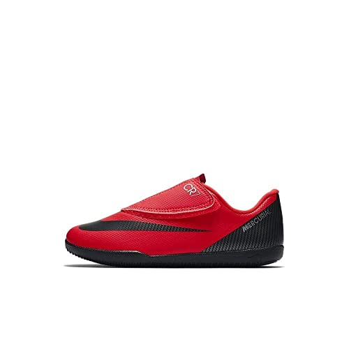 700924200f0 Nike Vaporx 12 Club PS (v) cr7 IC, Zapatillas de Fútbol Unisex Niños, Rojo  (Bright Crimson/Black/Chrome 600), 28 EU: Amazon.es: Zapatos y complementos
