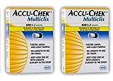 Accu Chek Multiclix Lancets, 204 Count