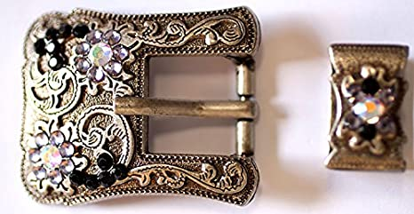 """WESTERN HORSE HEADSTALL BRIDLE SADDLE COPPER COLOR CART BUCKLE fit/'s 3//4/"""" strap"""