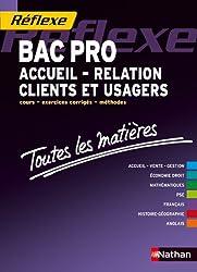 Toutes les matières - Bac pro Accueil - Relation Clients et Usagers