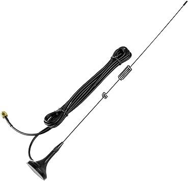SMA-M Antena UHF Y VHF para Radio De Coche YAESU VX-6R VX-7R ...