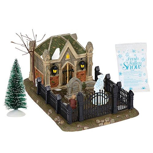 Department 56 Dickens A Christmas Carol Christmas Carol Cemetery (Christmas Collectibles Village)