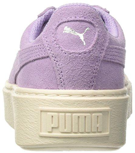 Scarpe Platform Suede Basse Ginnastica Glam Puma Jr Unisex Da B14xwAwqn