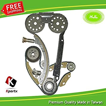 Engine Balance Chain Gear /& Guide Kit for Saab 9-3 1.8T 2.0T B207 Tensioner