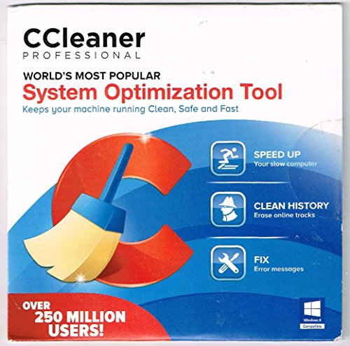 Ccleaner Professional Unlimited Home Use  Win Xp Vista Win 7 Win 8 Mac X 10 5 8 Or Later