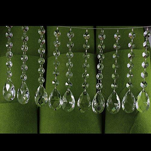Supla Teardrop Chandelier Pendants measures product image