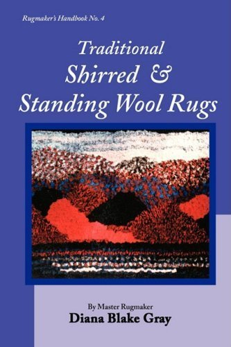 Traditional Shirred and Standing Wool Rugs by Diana Blake Gray (2009-01-05) ()