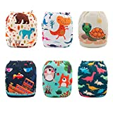 Babygoal Baby Cloth Diapers, One Size Washable