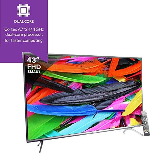 BPL 109 cm (43 inches) Stellar BPL109E36SFC Full HD LED Smart TV (Black)