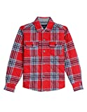 Nautica Boys' Long Sleeve Woven Shirt Jacket фото