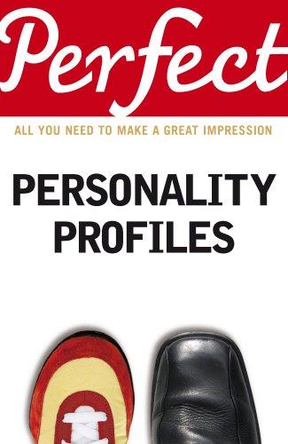 Perfect Personality Profiles (Perfect series) PDF