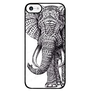Generic Tribal Elephant Hard Back For HTC One M9 Phone Case Cover
