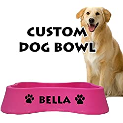 Personalized Dog Bowls - Let's Personalize That