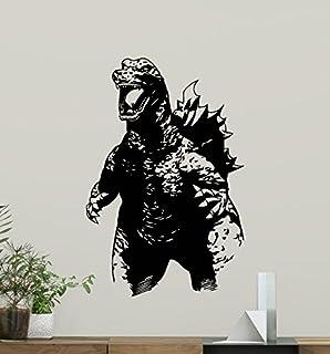 Godzilla Wall Decal Movie Monster Vinyl Sticker Bedroom Art Design Housewares Kids Room Decor