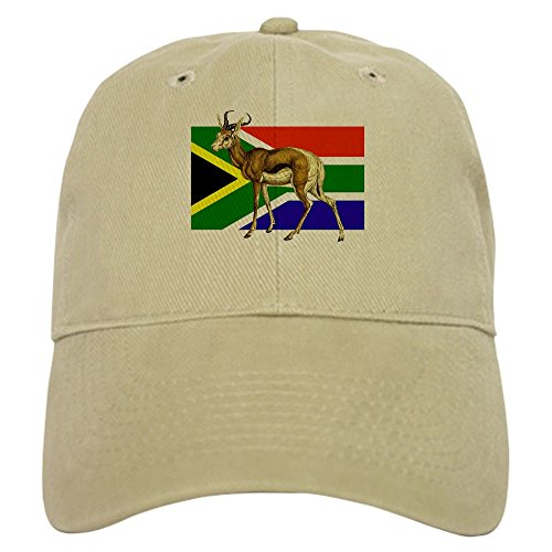 CafePress - South Africa Springbok Flag Cap - Baseball Cap with Adjustable Closure, Unique Printed Baseball Hat by CafePress