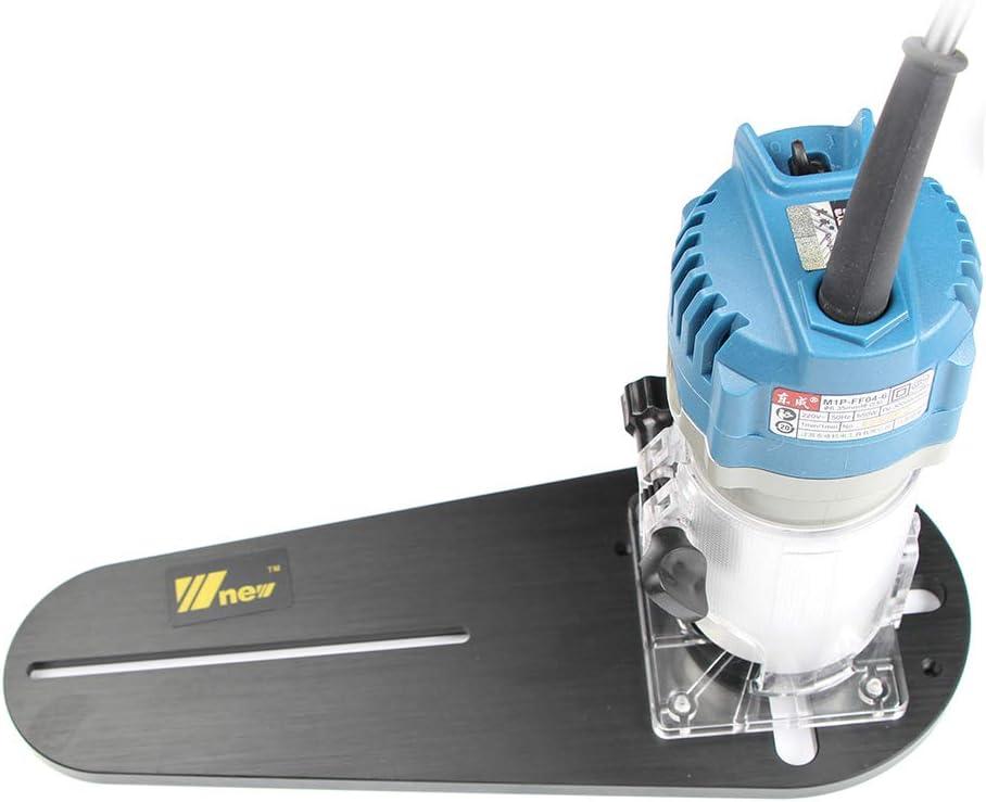 Fireangels Circle taglio Jig per Bosch Makita elettrico mano trimmer legno router lavorazione del legno