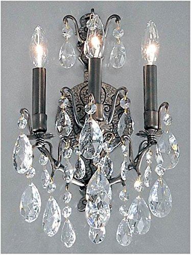(Classic Lighting 9000 AB SC Versailles, Crystal, Sconce/WallBracket, 5