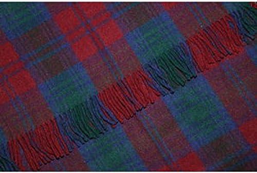 Blanket Throw Scottish All Wool Stunning Scottish Large Tartan Travel Rug