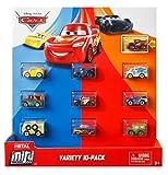 Disney Pixar Cars: Micro Racers Vehicle, 10 Pack