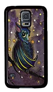 Samsung Galaxy S5 Case,Bat PC case Cover for Samsung S5 and Samsung Galaxy S5 Black