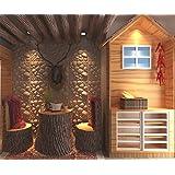 Contempo Living 3D-Rock Rock 3D Wall Panel, 27 sq. ft.