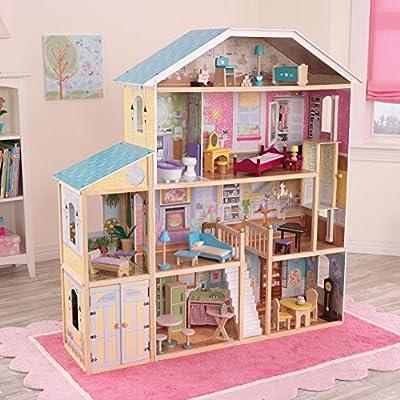 KidKraft Majestic Mansion Dollhouse: Toys & Games