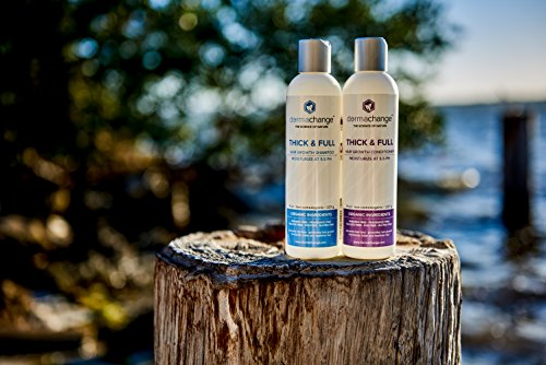 Hair Growth Organic Shampoo And Conditioner Set Grow Hair Fast Sulfate Free Best Hair Products With Vitamins Prevent Hair Loss Helps Dermatitis For Women And Men Made In USA