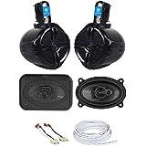 Overhead Soundbar Rollbar+Front Speaker Upgrade Kit For 87-95 JEEP WRANGLER YJ