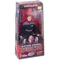 Star Trek: Insurrection Commander William Riker, Classic Edition, 23cm Poseable Action Figure in Cloth Starfleet Uniform