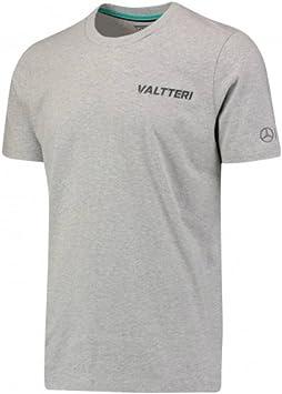 Mercedes AMG Petronas F1 Valtteri Bottas 77 Camiseta – Gris: Amazon.es: Deportes y aire libre