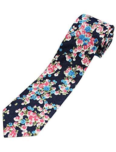 Toms Ware Fashion Floral Necktie