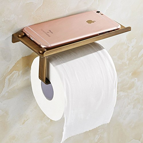 DACHUI American shelf toilet paper holder/of napkin ring/bathroom tissue box/bath room mobile pendant-A ()