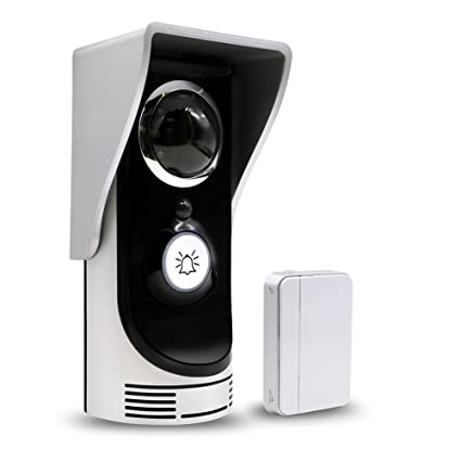 Zision HD Video WiFi Doorbell Free Cloud Storage Two Way Audio