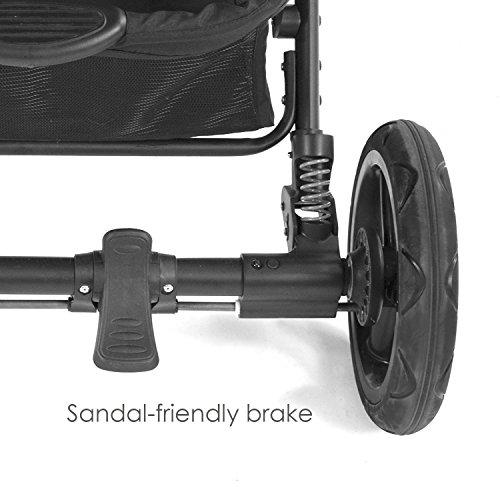 Contours Options Elite Tandem Double Stroller, Carbon by Contours (Image #8)