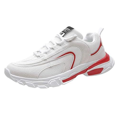 e3653cb72565e Scarpe Running Uomo Yesmile Scarpe da Ginnastica Scarpe Sneakers estive  Eleganti Donna Scarpe da Corsa Uomo