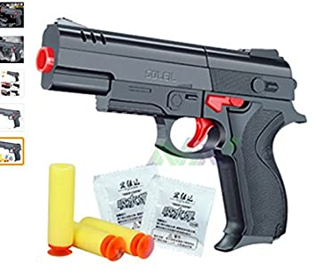 Eagle Nerf airsoft.gun Airgun Soft Bullet Gun Paintball Pistol Toy CS Game
