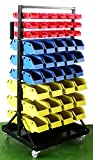 Jikkolumlukka Parts Organizer Rack Bins 90 Seperate Storage Buckets Shop Small Big Nut and Bolt