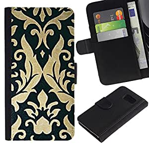 All Phone Most Case / Oferta Especial Cáscara Funda de cuero Monedero Cubierta de proteccion Caso / Wallet Case for Sony Xperia Z3 Compact // Vintage Parchment Wallpaper Art