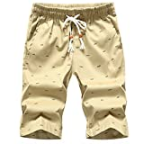 Shorts Male Bottoms Men's Boardshorts Comfortable Shorts 73 Khaki XXXL