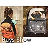 Freewander Boys Back to School Backpack Personalized Junior High Canvas Book Bag