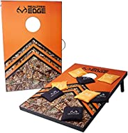 Realtree Cornhole - Camo Backyard Games for Kids, Adults, & Family - 2 Camouflage Boards, 8 Bean Bags, &am