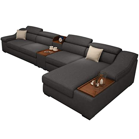 Amazon.com: MIKEWEI Removable and Washable Fabric Sofa ...