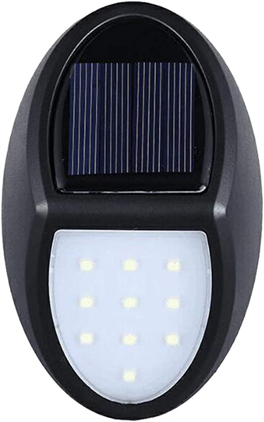 FLAMEER Luces de Plataforma, de Escalera LED Solar para Sendero Exterior Césped: Amazon.es: Jardín