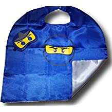 OscarNOtis Ninja Cape and Mask Set Dress Up Costume
