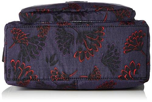 Bag Women's Cross Multicolour Body Kipling Reth Night Floral IUvwqdIx
