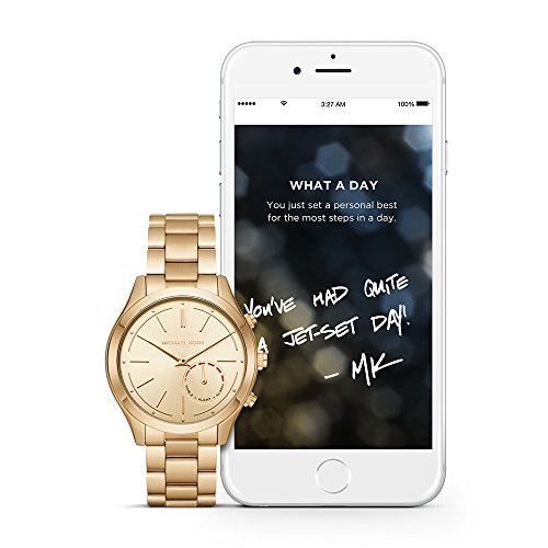 Michael Kors Access Hybrid Gold Slim Runway Smartwatch MKT4002 by Michael Kors
