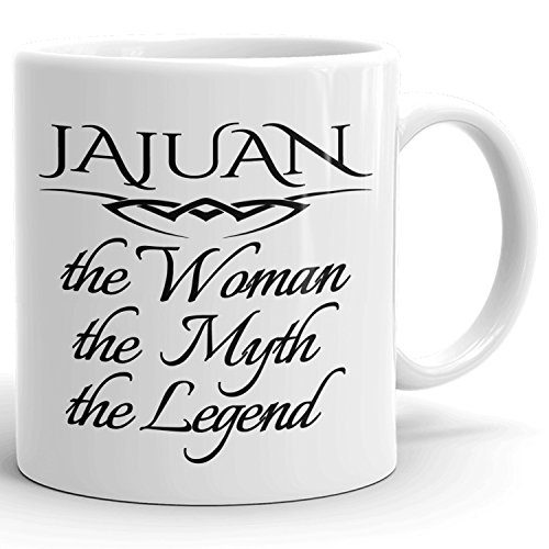 Best Personalized Womens Gift! The Woman the Myth the Legend - Coffee Mug Cup for Mom Girlfriend Wife Grandma Sister in the Morning or the Office - J Set 5