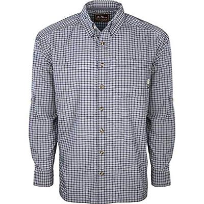 Drake Men's Featherlite Check Long Sleeve Shirt