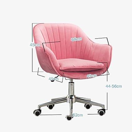 Afanyu Silla de oficina Afanyu Velvet, silla de esponja de ...